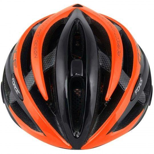 Force ROAD Fahrradhelm neon orange 2