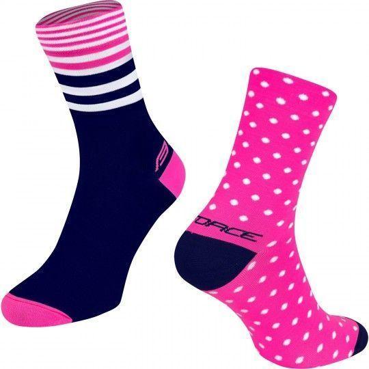 Force SPOT Radsocjen pink/blau 2