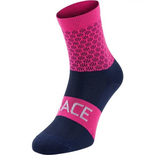 Force TRACE Radsocken H17 pink/blau 2