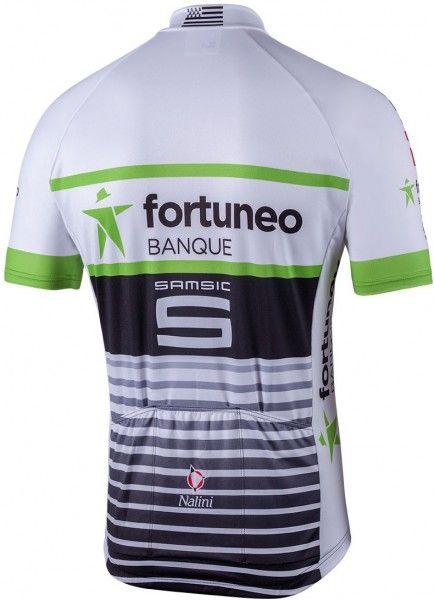 FORTUNEO - SAMSIC 2018 Kurzarmtrikot (langer Reißverschluss) Nalini Radsport-Profi-Team Größe XL (5)