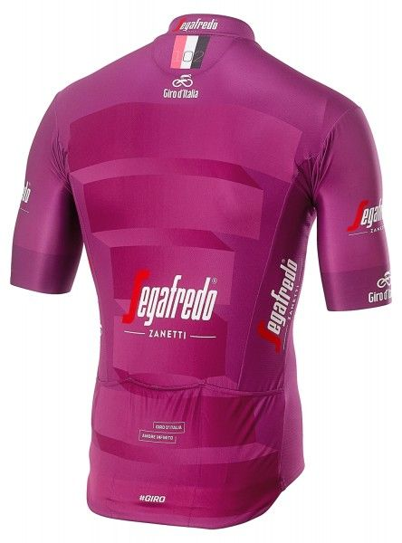 Giro d'Italia 2019 MAGLAI CICLAMINO (lila) Radtrikot kurzarm 2