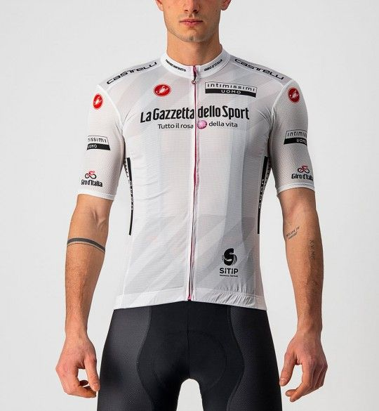 Giro d'Italia 2021 MAGLIA BIANCO (weiß) Radtrikot kurzarm 2