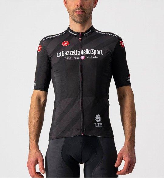 Giro d'Italia 2021 Maglia NERA Radtrikot kurzarm schwarz 2