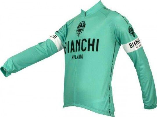 Bianchi Milano LEGGENDA Langarmtrikot - Grandi Classiche (I18-4300) Größe L (4)