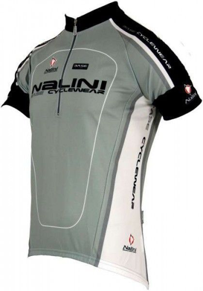 nalini base cycling short sleeved tricot for kids GENTARGE grey