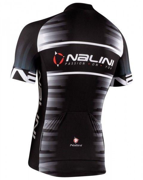 Nalini Borgo Fahrrad Kurzarmtrikot schwarz 2