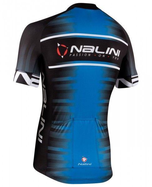 Nalini BORGO Radtrikot kurzarm schwarz/blau (E21-4250) Größe XL (5)