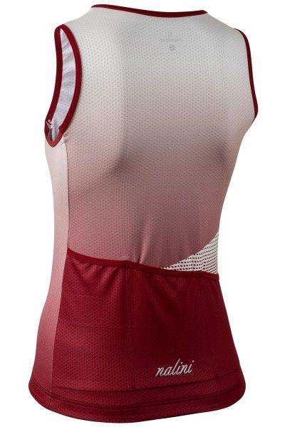 Nalini CALGARY1988 womens sleeveless cycling jersey red (E20-4710)