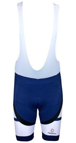 Nalini CARBON Fahrrad-Trägerhose blau 2