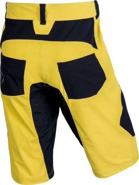 Nalini CLICK SHORT Bike-Short gelb/schwarz 2