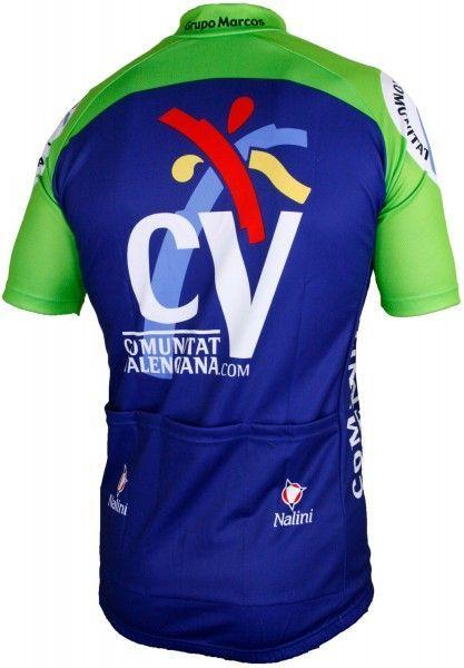 Comunitat Valenciana 2005 Trikot (kurzer Reißverschluss) - Nalini Profi-Team Radsportbekleidung Größe S (2)