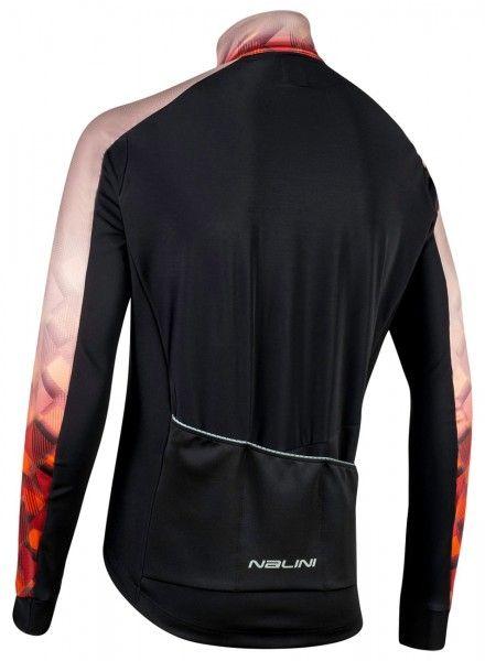 Nalini Criterium Jkt Fahrrad Winterjacke schwarz/braun 2
