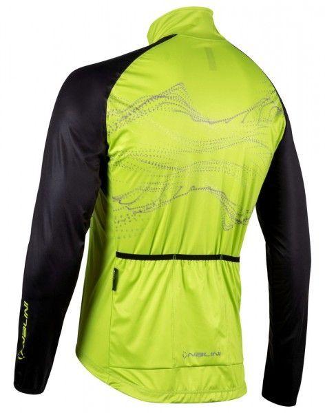 Nalini Eco Wind Jacket Fahrrad Windjacke hellgrün/schwarz 2