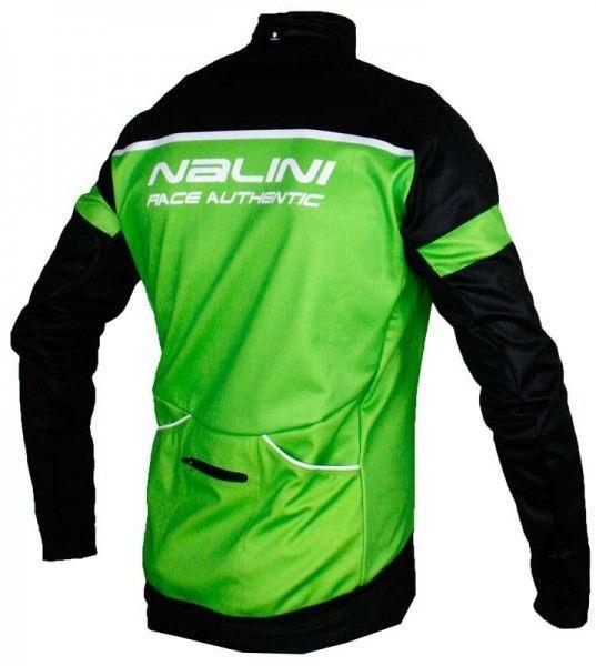 Übergröße Nalini PRO CANOPO B  Fahrrad Winterjacke grün (I17-4400)