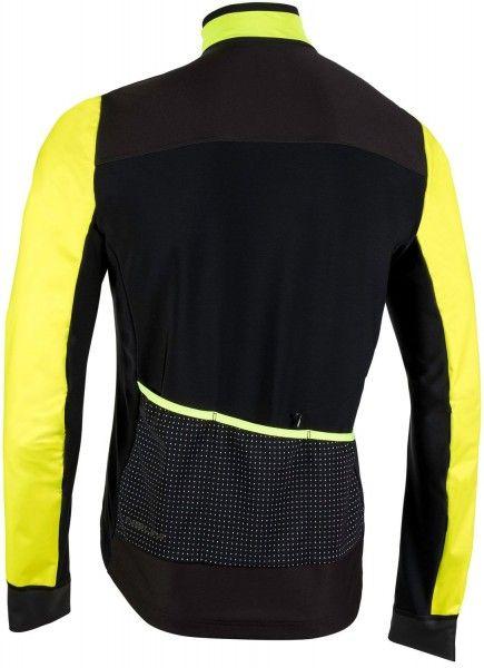 Nalini PRO Pro Gara Jkt winter cycling jacket black/yellow (I18-4050)