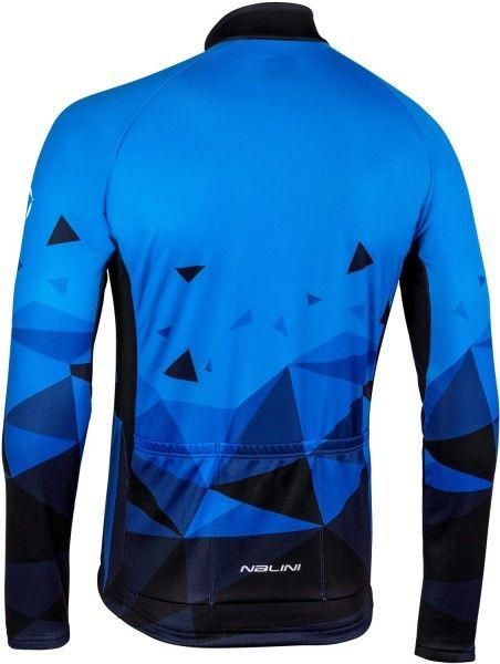Nalini Langarmtrikot Logo Jersey blau 4200 2