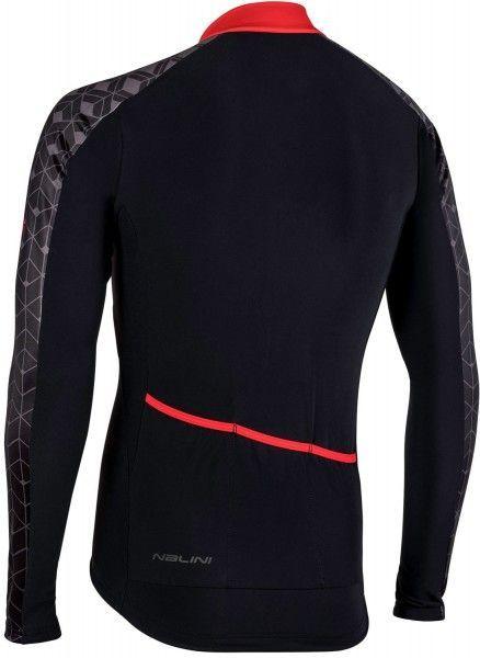Nalini PRO Nalini W Jersey Radtrikot Langarm schwarz/rot (I18-4100) Größe XXXXL (8)