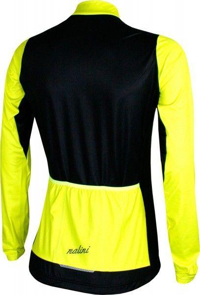 Nalini PRO LW Lady Jersey B Damen Langarmtrikot schwarz/gelb 2
