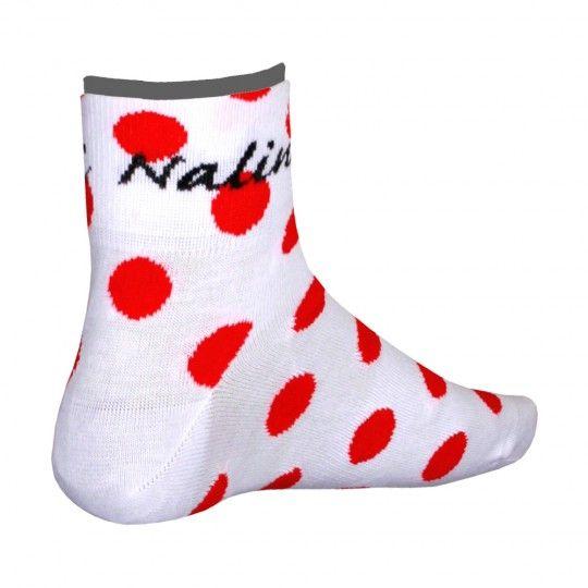 Nalini PRO POIS Radsport-Coolmax-Socken weiß XXL (46-47 / 12-12.5)