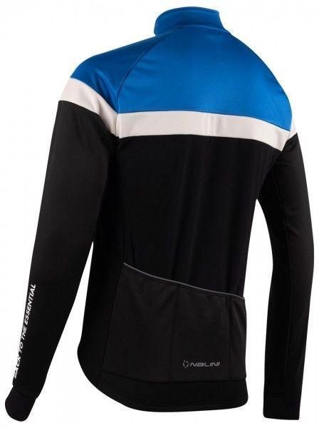 Nalini Road Jkt Fahrrad Winterjacke schwarz/blau 2