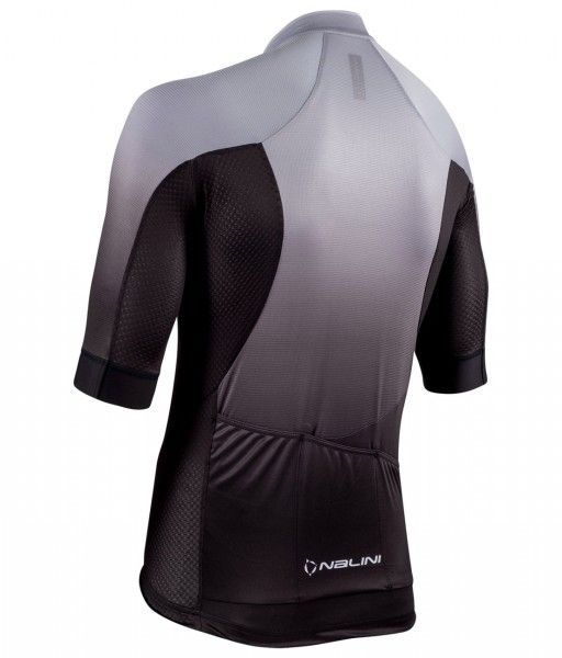 Nalini Speed Jersey Fahrrad Kurzarmtrikot schwarz/grau 2