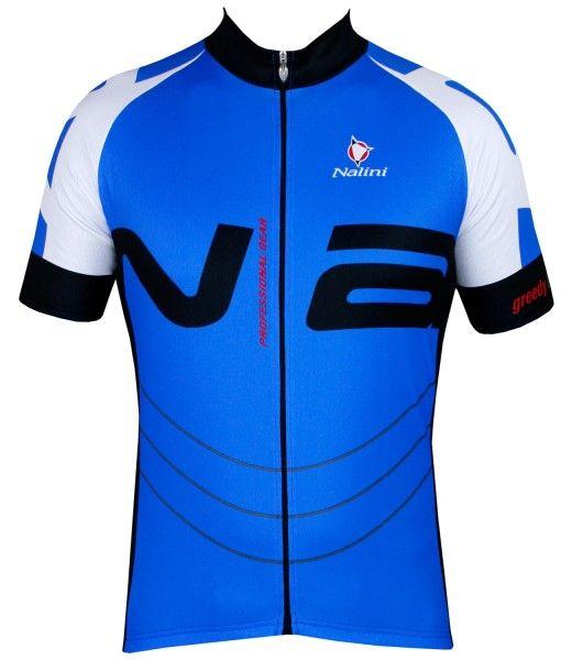 Nalini THUNDER Fahrrad-Kurzarmtrikot blau 1