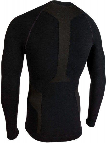 Nalini Unterhemd Merino New Jersey schwarz 4000 2