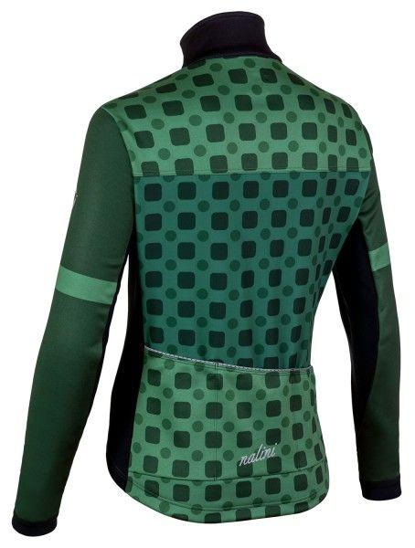 Nalini WS Lady Jkt 2.0 Fahrrad Damen Winterjacke grün/schwarz 2