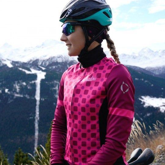 Nalini WS Lady Jkt 2.0 Fahrrad Damen Winterjacke pink/schwarz 2