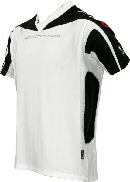 Nalini PRO MTB-kids-short sleeve jersey ZAFFERANO white