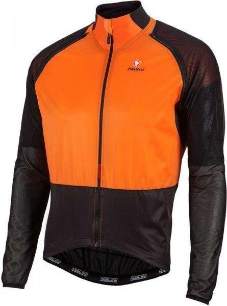 Nalini Zippoffjacke Combi Wind Jersey orange 4151 2