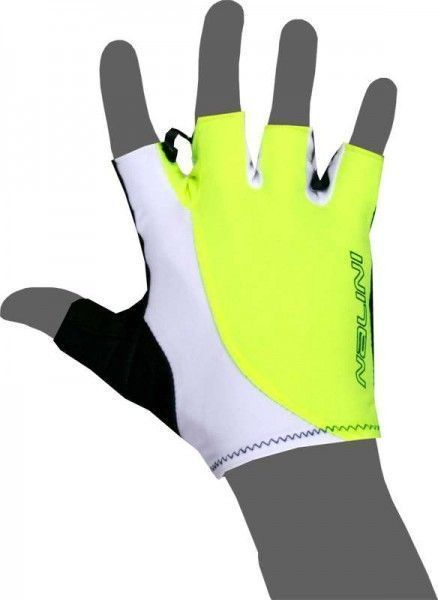 Nalini PRO Logo Gloves Kurzfingerhandschuh neongelb (E18-4050)