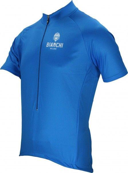Bianchi Milano EDOARDO Radtrikot blau 2