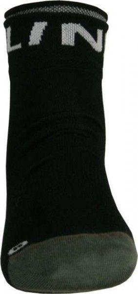 Nalini Pro Radsport-Coolmax-Socken PIEVE schwarz/anthrazit
