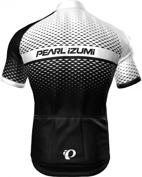 Pearl Izumi SELECT ESCAPE LTD short sleeve cycling jersey black/white