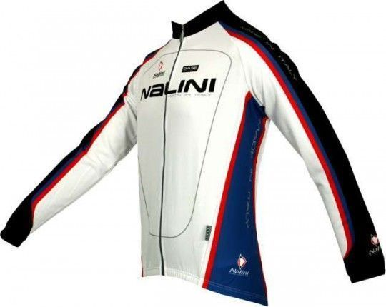 Nalini Basic long sleeve jersey SACCARINA for kids white