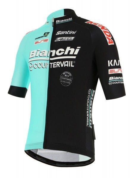 Bianchi Countervail 2019 Radtrikot kurzarm 2