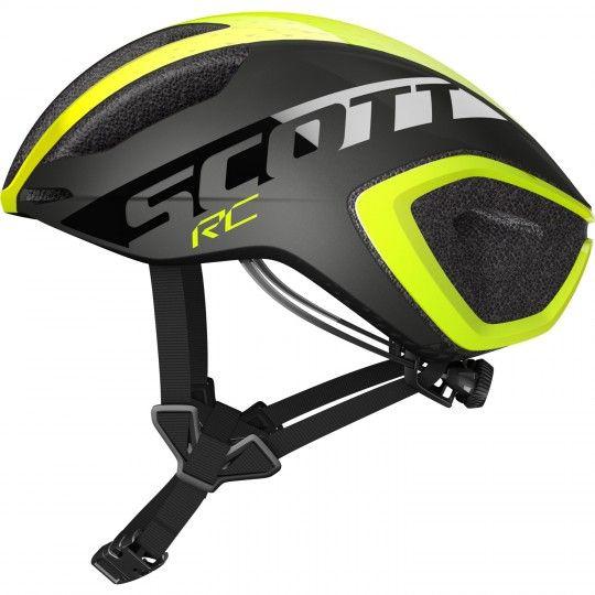 Scott CADENCE PLUS Fahrradhelm yellow RC/dark grey 2