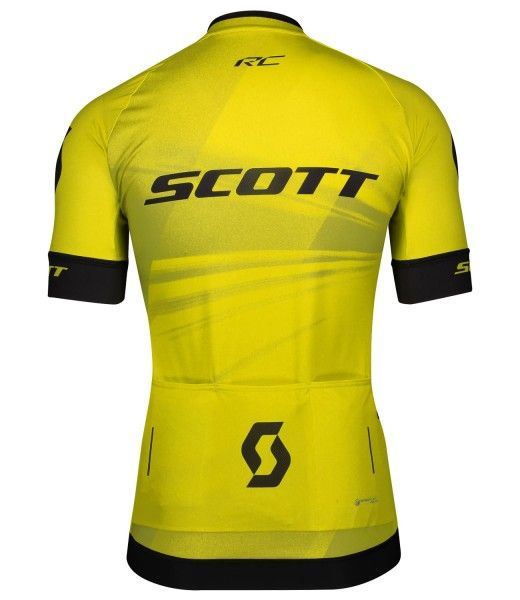 Scott RC PRO Radtrikot kurzarm gelb 2