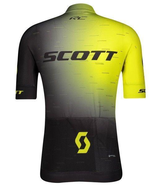 Scott RC PRO Radtrikot kurzarm gelb/schwarz 2