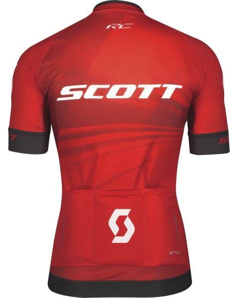 Scott RC PRO Radtrikot kurzarm rot 2