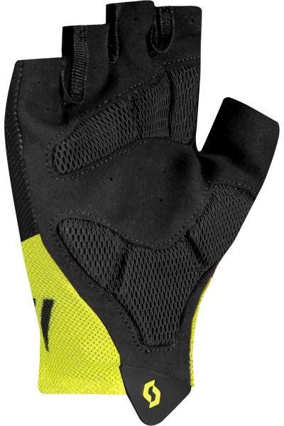 Scott RC TEAM Fahrradhandschuhe kurzfinger schwarz/neongelb 2