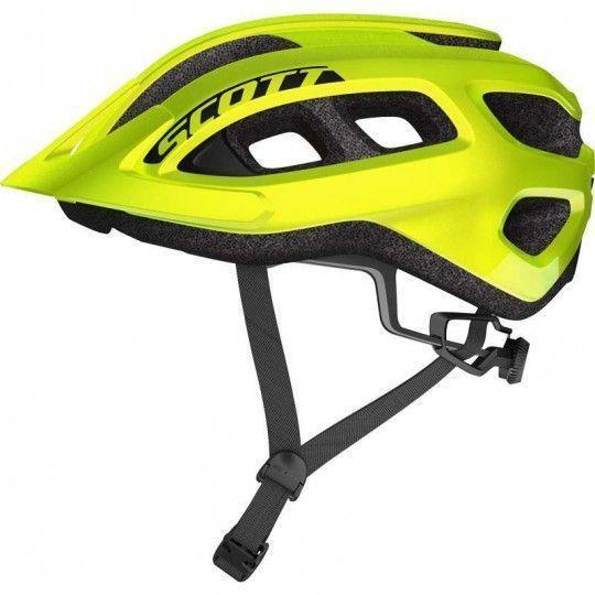 Scott SUPRA Fahrradhelm neon gelb 2