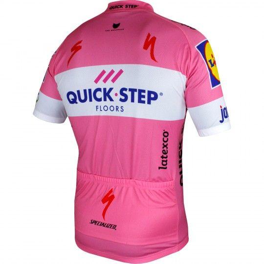 Quick-Step Floors 2018 Giro Special Edition Radtrikot rosa 2