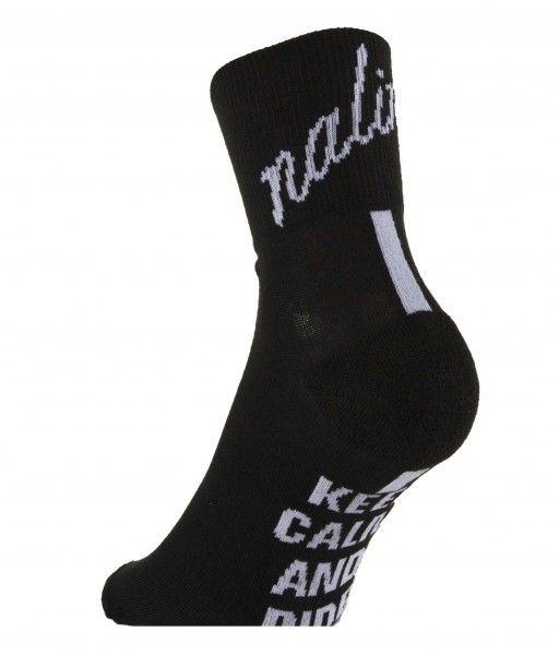 Nalini PRO SETTANTA Radsport-Coolmax-Socken schwarz L-XL (42-45 / 8-11.5)