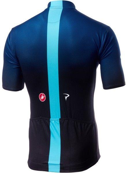 TEAM SKY 2019 FAN Radtrikot kurzarm (langer Reißverschluss) - Castelli Radsport-Profi-Team Größe L (4)