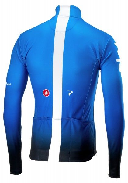 TEAM SKY 2019 training edition long sleeve cycling jersey - Castelli professional cycling team
