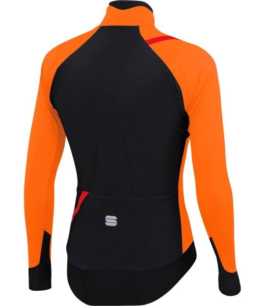 Sportful FIANDRE PRO MEDIUM winter cycling jacket neon orange
