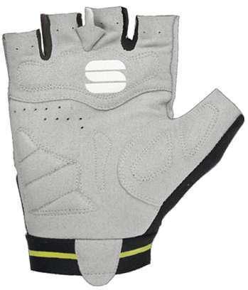 00aaf02a7 Sportful GIRO short finger gloves black fluo yellow
