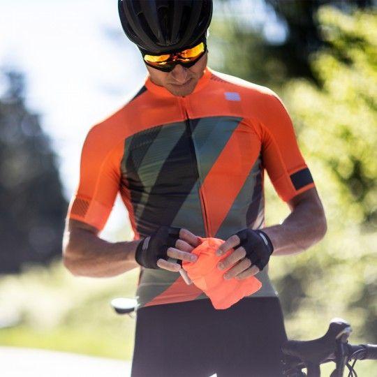 Sportful Hot Pack Easylight Fahrrad Windjacke orange 2